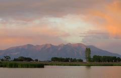 Soft Summer Sunset (Patricia Henschen) Tags: park sunset colorado blanca alamosa blancavista summer mountain lake mountains clouds sanluisvalley wetland alpenglow massif sangredecristo