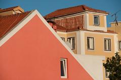 Lisbon abstract (ValterB) Tags: 2019 portugal architecture abstract urban urbanphotography urbangeometry lisbon orange yellow blue buildings building bright street valterb nikon nikond90 nikkor europe