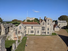 Photo of Inside Carisbrooke Castle