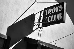 Troys Club (glpease) Tags: urban decay sign bnw industar69
