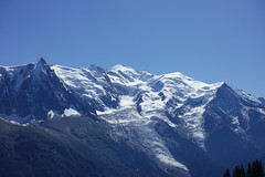 Mont Blanc @ Hike to Col du Brévent, Planpraz & Flégère