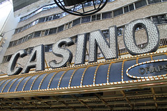 Casino (Flint Foto Factory) Tags: las vegas nevada henderson county urban city late summer september 2019 downtown vacation holiday fremont street fourqueens hotel casino old school classic vintage sign signage craps game die dice facade letters 202 fremontst