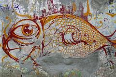 Peixe Unknow artist (Edgard.V) Tags: brasil brésil brasile brazil rio de janeiro rj jardim botanico mur street art urban arte urbano callejero mural wall muro fish poisson pesce