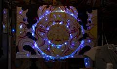 Brecht Corbeel (brecht.corbeel) Tags: aesthetology aesthetic neon led light psychedelic dragon