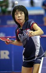 """Из серии """"Колобок, колобок..."""" (Sergey Klyucharev) Tags: настольныйтеннис пингпонг спорт tabletennis pingpong sport girl"""