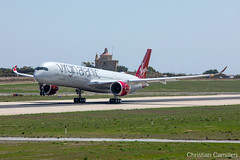 Virgin Atlantic Airbus A350-1041 'G-VPOP' LMML - 13.09.2019 (Chris_Camille) Tags: spottinglog registration planespotting spotting maltairport airplane aircraft plane sky fly takeoff airport lmml mla aviationgeek avgeek aviation canon5d 5dmk4 70200mm28 canonef canon livery myphoto myphotography planespotter aviationdaily potd picoftheday canon5dmkiv a350 a3501000 a350k airbus airbusdaily virginatlantic airbus350 mammamia gvpop aviationphotography aviationnews airbusa350xwb airbuslovers