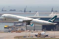 CX B773 B-HNS @ CX360 (EddieWongF14) Tags: cathaypacificairways cathaypacific boeing boeing777 boeing777300 boeing777367 boeing77731h b777 b773 777 773 777300 77731h bhns