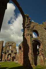 West End from the East End (CoasterMadMatt) Tags: lindisfarnepriory2019 lindisfarnepriory lindisfarneprioryruins ruin ruins ruinedmonastery monastery monasteries northumberlandmonasteries monasteriesinnorthumberland englishmonasteries monasteriesinengland church churchruins rainbowarch arch arches archway archways westfront west front eastend east end holyislandoflindisfarne holyisland holy island lindisfarne northeastengland northeast england britain greatbritain gb unitedkingdom uk europe building structure architecture englishheritage english heritage englishhistory history historicalbuildings northumberlandattractions attractionsinnorthumberland attraction attractions june2019 summer2019 june summer 2019 coastermadmattphotography coastermadmatt photos photographs photography nikond3200