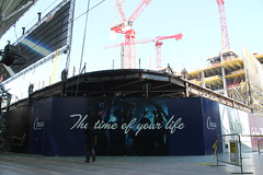 The Time Of Your Life (Flint Foto Factory) Tags: las vegas nevada henderson county urban city late summer september 2019 downtown vacation holiday fremont street circa thed hotel casino underconstruction former site lasvegasclub thetimeofyourlife construction crane cranes fremontstreetexperience