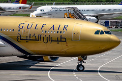 Gulf Air - Airbus A330-243 / A9C-KA @ Manila (Miguel Cenon) Tags: gulf gulfa330 gulfair gulfaira330 a9cka rpll airplane airplanespotting apegroup appgroup airport airbus aircraft airbusa330 airbusa332 a330 a332 manila nikon naia d3300 planespotting ppsg philippines plane twinengine wings widebody widebodyjet wing aviation rollsroyce rrtrent trent700