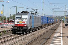 Railpool 186 258 Weil am Rhein (daveymills37886) Tags: railpool 186 258 weil am rhein baureihe cargo bombardier traxx lineas