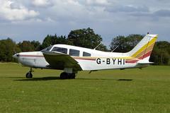 G-BYHI Piper PA-28-161 Cherokee Warrior II cn 28-8116084 Sywell 01Sep19 (kerrydavidtaylor) Tags: orm egbk sywellaerodrome northamptonshire pa28cherokee