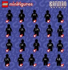 Full list (Jacob Customs) Tags: lego batman beyond minifigure collectable series