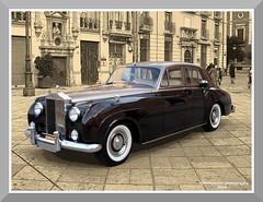 Rolls-Royce Silver Cloud (1966) (fernanchel) Tags: car clasico classic vehiculo vehicle rollsroyce gimp valencia coche