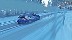 golf r32 9 (Keischa-Assili) Tags: vw golf r32 blue white snow winter forza horizon 4 4k uhd wallpaper screenshot photo rally car
