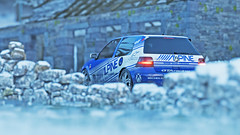golf r32 7 (Keischa-Assili) Tags: vw golf r32 blue white snow winter forza horizon 4 4k uhd wallpaper screenshot photo rally car