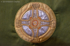 Stiched (hoobgoobliin) Tags: embroidery rippon cathedral art cloth stitched