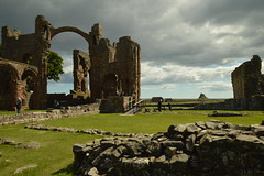 The Priory and the Castle (CoasterMadMatt) Tags: lindisfarnepriory2019 lindisfarnepriory lindisfarneprioryruins ruin ruins ruinedmonastery monastery monasteries northumberlandmonasteries monasteriesinnorthumberland englishmonasteries monasteriesinengland church churchruins rainbowarch arch arches archway archways lindisfarnecastle castle castles castlesofnorthumberland northumberlandcastles castlesofengland englishcastles holyislandoflindisfarne holyisland holy island lindisfarne northeastengland northeast england britain greatbritain gb unitedkingdom uk europe building structure architecture englishheritage english heritage englishhistory history historicalbuildings northumberlandattractions attractionsinnorthumberland attraction attractions june2019 summer2019 june summer 2019 coastermadmattphotography coastermadmatt photos photographs photography nikond3200