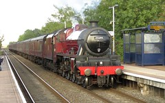 45699 Willington (localet63) Tags: jubileeclass 45699 willington galatea westcoastrailways 5z49 emptystockmovement lms