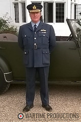 RAF Officer (Wartime Productions) Tags: wartime german ww2 living history group hurricane actor spotlight filming television model walk on supporting artist extra film tv movie body double skill stand in assistant director runner ad picture uniform uniforms period clothing hire utility casting reconstruction documentary greatcoat civilian kubelwagen vehicles wwii