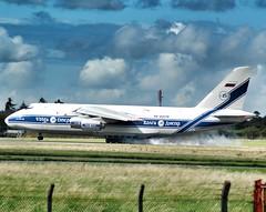 VOLGA DNEPR AN-124 RA-82078 (Adrian.Kissane) Tags: freighter airline jet plane aeroplane russian ireland airport runway landing arriving sky outdoors ra82078 2882019 an124 shannonairport shannon cargo vda