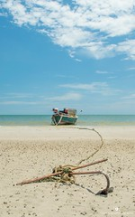 It's all so quiet (www.ownwayphotography.com) Tags: paradise sand thailand sea boat