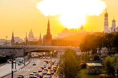 """Nuclear Explosion"" over the Moscow Kremlin     XOKA6187b2s (Phuketian.S) Tags: moscow downtown center capital russia city building kremlin redsquare walk street urban town cityscape landscape home house bridge sky river moskva ship church temple cathedral red cloud blue phuketian"