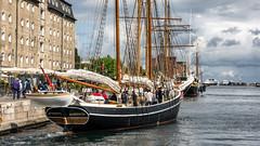 Mira of Copenhagen (tonyguest) Tags: mira copenhagen denmark wooden sailing ship schooner tonyguest traditional thefirstladyofnyhavn