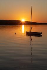 06:41:33 (zedspics) Tags: sunrise keszthely balaton magyarország hungary hongarije plattensee ungarn sailing ship boat zedspics 1909 reflection