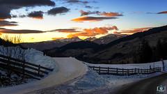 Tramonto sulle dolomiti in Val di Funes (gigiochef) Tags: dolomiti montagna neve tramonto colori inverno funes