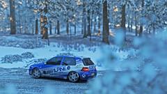 golf r32 3 (Keischa-Assili) Tags: vw golf r32 blue white snow winter forza horizon 4 4k uhd wallpaper screenshot photo rally car