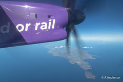 DHC Dash-8 G-PRPN Flybe 20190913 IsleOfMan (steam60163) Tags: dhc dash8 flybe isleofman