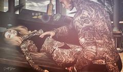 ˢᵒᵘˡˢ ᶜᵒˡˡⁱᵈᵉ.... ❤ (scarlettrose.karsin) Tags: vegastattoo tattoo bodyink bodyart inked sl secondlife sexy couple genusproject legacy signature catwa stockholmlima