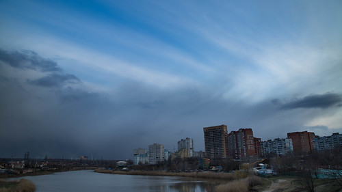 Clouds in Rostov-on-Don.