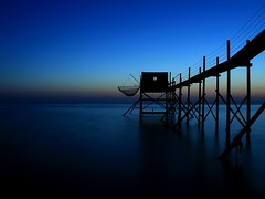 Blue Hour 😎 (Céline@LaRochelle) Tags: bluehour ocean