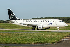 SP-LDK (PlanePixNase) Tags: aircraft airport planespotting haj eddv hannover langenhagen lot star alliance embraer e170 staralliance