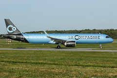 F-HNCO (PlanePixNase) Tags: aircraft airport planespotting haj eddv hannover langenhagen airbus 321 a321 a321neo neo lacompagnie