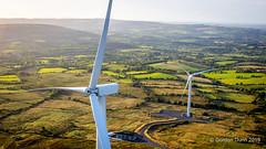 IMG_0382e (ppg_pelgis) Tags: omagh northern ireland uk northernireland greenenergy green wind farm windfarm pidgeontop turbine hill scenic ulster aerial