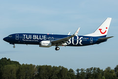 D-ATUD (PlanePixNase) Tags: aircraft airport planespotting haj eddv hannover langenhagen boeing 737800 737 b738 tui tuifly tuiblue