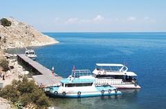 Lake Van (Alexanyan) Tags: lake van վան holy cross armenian church blue water աղթամար ախթամար akdamar akhtamar island turkey port boat