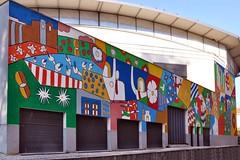 Tomar - street art (jaime.silva) Tags: tomar joãolcostarosa streetart streetartist muralpainting mural pinturamural publicart artepublica urban urbanart arteurbana spraypaint spray spraypainting wall wallart graffiti graf painting paint portugal portugalia portugalsko portugália portugalija portugali portugale portugalsk portogallo portugalska portúgal portugāle