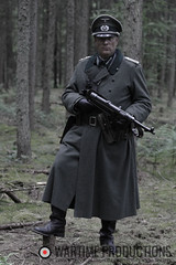 German Officer WW2 (Wartime Productions) Tags: wartime german ww2 living history group hurricane actor spotlight filming television model walk on supporting artist extra film tv movie body double skill stand in assistant director runner ad picture uniform uniforms period clothing hire utility casting reconstruction documentary greatcoat civilian kubelwagen vehicles wwii