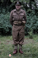 British Army Officer ww2 supporting artist hire.fw (Wartime Productions) Tags: wartime german ww2 living history group hurricane actor spotlight filming television model walk on supporting artist extra film tv movie body double skill stand in assistant director runner ad picture uniform uniforms period clothing hire utility casting reconstruction documentary greatcoat civilian kubelwagen vehicles wwii