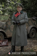 WW2 German General (Wartime Productions) Tags: wartime german ww2 living history group hurricane actor spotlight filming television model walk on supporting artist extra film tv movie body double skill stand in assistant director runner ad picture uniform uniforms period clothing hire utility casting reconstruction documentary greatcoat civilian kubelwagen vehicles wwii