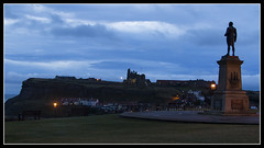 IMG_0017 St Marys Church (Scotchjohnnie) Tags: whitby yorkshire northyorkshire stmaryschurch captaincookmemorial jamescook jamescookmemorial lowlight silhouette landscape landmark canon canoneos canon7dmkii canonef24105mmf4lisusm scotchjohnnie