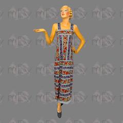 1970s Arts & Crafts Jersey Column Dress Jumper (Rickenbackerglory.) Tags: vintage 1970s siegel mannequin artscrafts jersey columdress