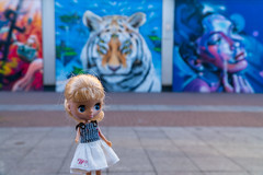 Blythe A Day 07 September 2019 - Artist (omgdolls) Tags: blythe petite lundby blytheaday september peppypandagarden
