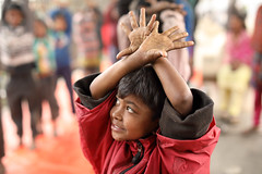 Bangladesh, street boy attends an afternoon class (Dietmar Temps) Tags: school fun education abandoned asia bangladesh boy child culture developingcountry dhaka homelessness human humanity kid loneliness male orphan outdoor people person poor poverty streetchildren streetkids streetyouth young