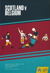 Scotland v Belgium 20190909 (tcbuzz) Tags: scotland scottish football association sfa hampden park glasgow uefa european championships programme