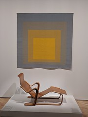 Josephy Albers Colour Study and Isokon Chair (koukat) Tags: nga national gallery australia canberra act joseph albers colour color study print isokon chair
